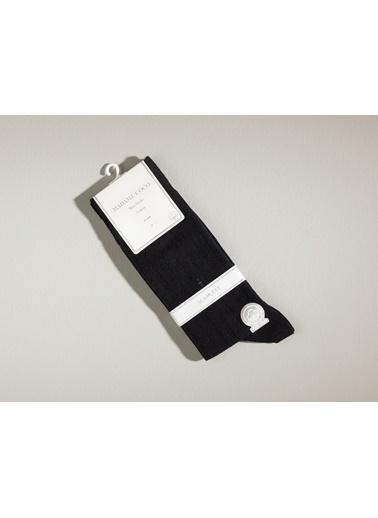 Madame Coco Colmar Erkek Soket Çorap Siyah